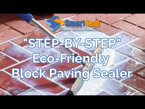 Cleaning Block Paving Driveways,Sealing with Eco-Friendly Block Sealer