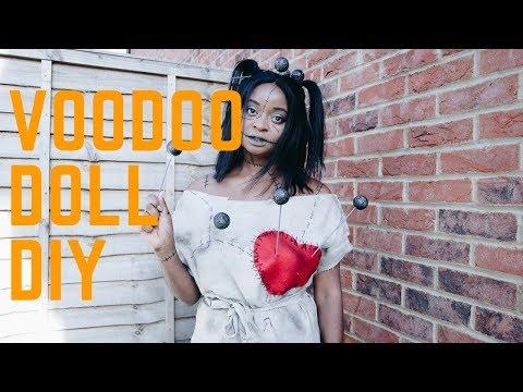 EASY DIY VOODOO DOLL -HALLOWEEN 2017