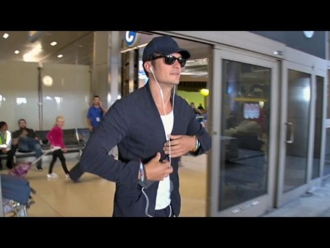 Orlando Bloom Looks Ecstatic Arriving Home Amid Reports He Will Propose To Katy Perry