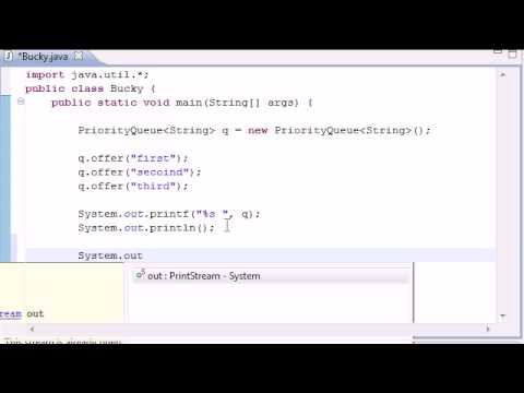 Intermediate Java Tutorial - 15 - Queue