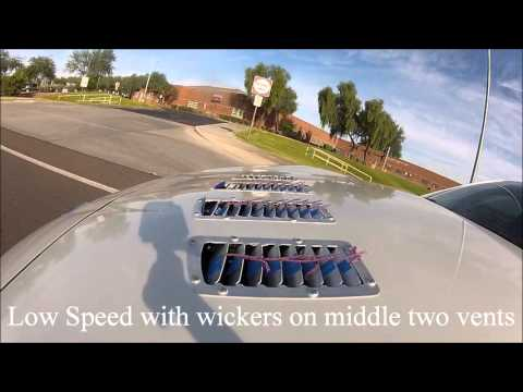 Velox Motorsports Hood Louver FRS BRZ Tuft Test