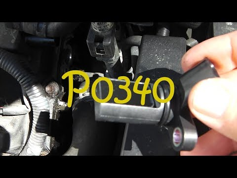 P0340 Nissan Quest 2006 Camshaft Position Sensor Bank 1 & Bank 2 Replacements