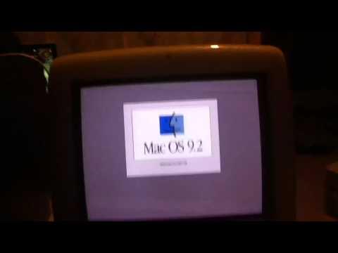 iMac G3 Booting Mac OS 9.2