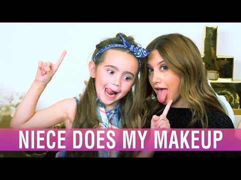 My niece does my makeup look | Ashley Tisdale