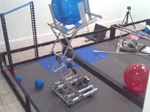 VEX Toss Up: Experimenting with Scissor Lift