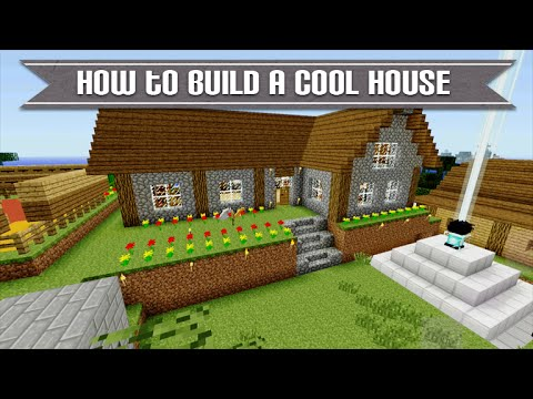 Minecraft Xbox & Playstation - How To Build A Cool Survival House Simply & Easy Tutorial