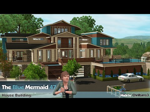 The Sims 3 - House Building - The Blue Mermaid 47