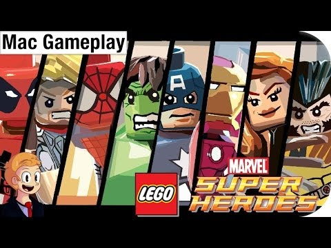 LEGO MARVEL Super Heroes - Mac Gameplay