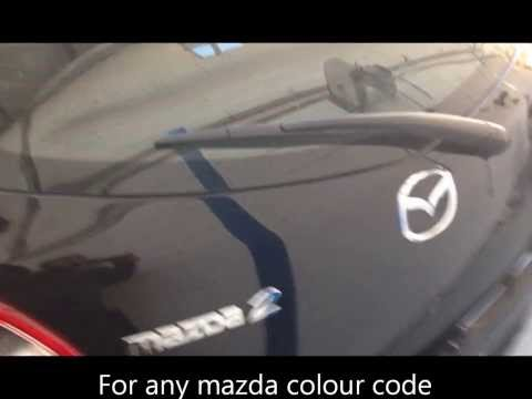 How to find a Mazda Colour Code, THE EASY WAY