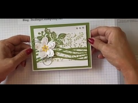 Botanical Flower Note Card