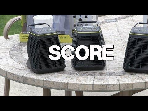 RYOBI Score Wireless Speakers - RYOBI days
