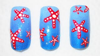 How To Draw A Starfish On Your Nails Perfectly Every Time