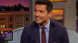 Mark Consuelos Went On Safari w/ Mice