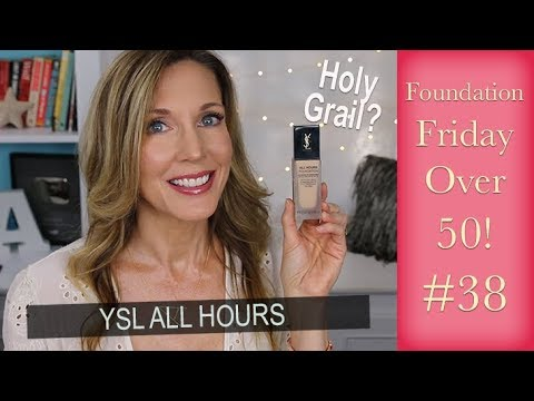 Foundation Friday Over 50 ~ YSL All Hours Foundation