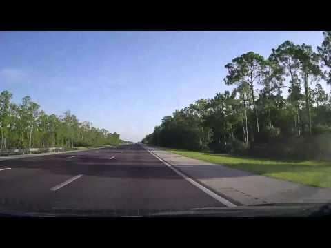 Driving from Fort Myers Airport to Colonial Boulevard