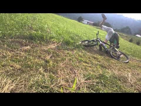 Mountain Bike Jump Fail