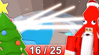 [16/25] CHRISTMAS STAGES in Tower of Hell... | Roblox