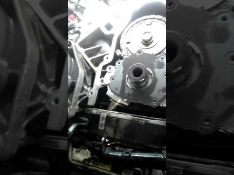 5.3 liter oil pump pick up down tube trick without dropping the oil pan