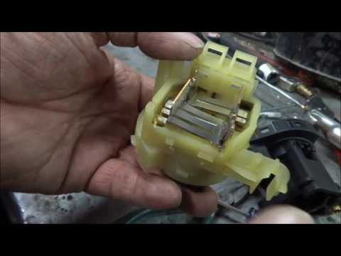 GM/Grand AM/ ignition electrical switch,a look inside the switch...