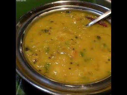 simple method gose kootu recipe or cabbage kootu recipe in tamil - how to make gose kootu