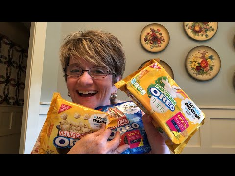 Taste Testing  Oreo Limited Edition Cookies