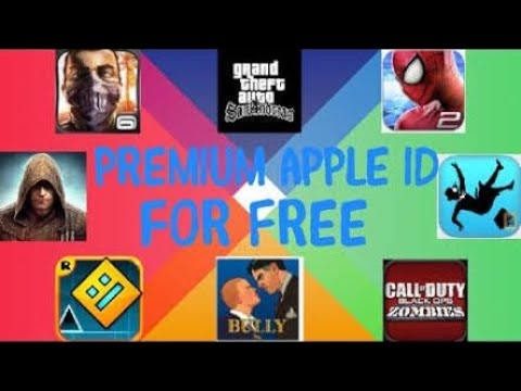 [PREMIUM APPLE ID] 50+ FEATURED APPS, GAMES FREE iOS 11/10 iPhone, iPad(15K Subscriber Special)