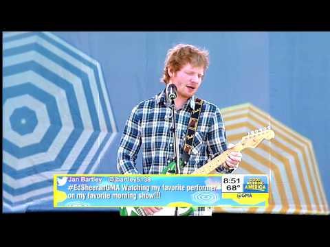 Ed Sheeran- Thinking Out Loud [GMA Summer Concert]