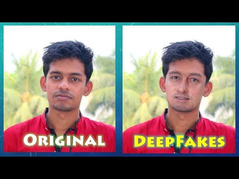 DeepFakes Testing with OpenCV Python and Dlib