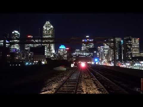 Backing into Montreal's Gare Centrale (Central Station)