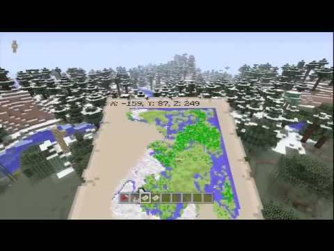 Minecraft Xbox 360 Seeds - Mob Spawner IN NPC Village