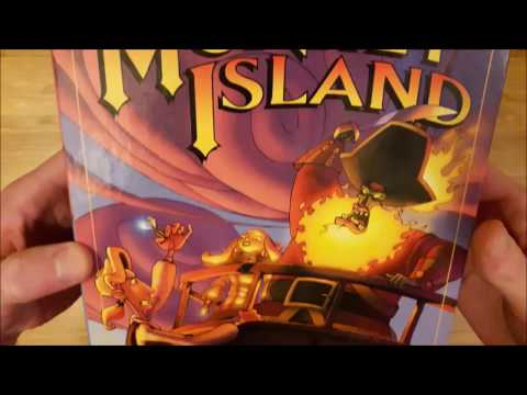 The Curse of Monkey Island Unboxing (PC Big Box)