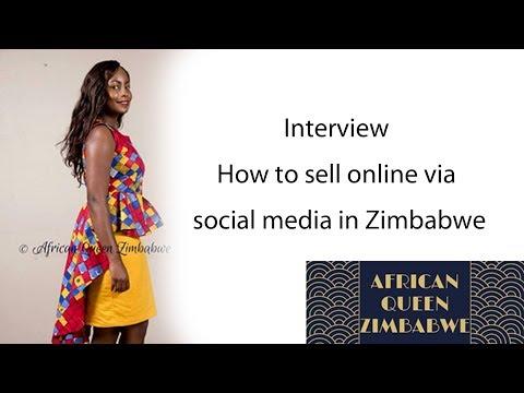 Interview |How to sell online via social media in Zimbabwe, African Queen Zimbabwe