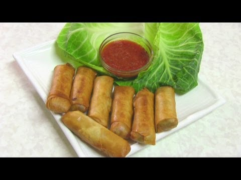 Vegetable Spring Rolls Video Recipe by Bhavna