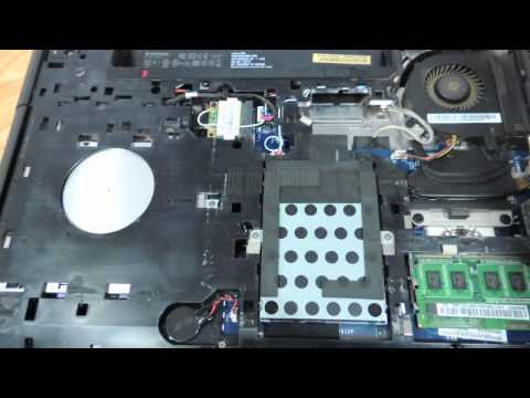 Lenovo g500 g510 g505 How to replace the keyboard
