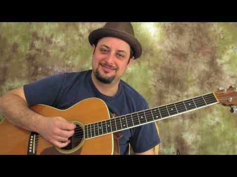 Boston - More Than a Feeling - Easy Acoustic Song on Acoustic Guitar - Guitar Lessons
