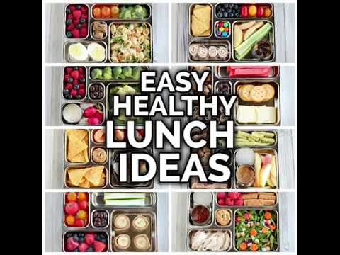 Healthy Lunch Ideas (for adults & kids)