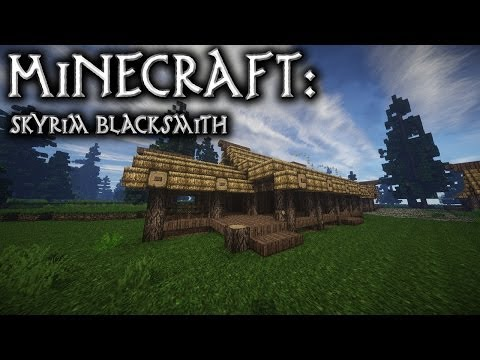 Minecraft: Skyrim Blacksmith Tutorial