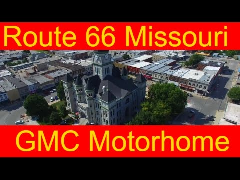 Route 66 Missouri Road Trip RV Living On The Road In A GMC Motorhome