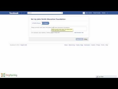 Creating a Facebook Timeline Page for Your NonProfit