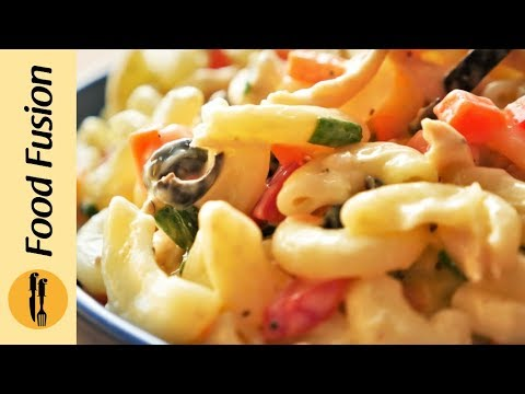 Chicken Macaroni Salad Recipe By Food Fusion