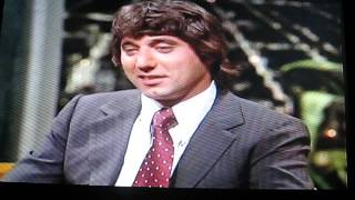Johnny Carson Nbc Interview Dumb Is Joe Namath Nfl Ny Jets Mvp Footba