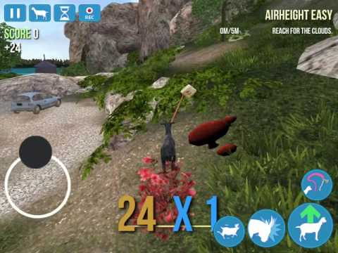 HOW TO GET THE HITCHHIKER GOAT ON GOAT SIMULATOR IOS/ANDROID