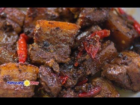 CAUTION: Extremely Spicy Pork Adobo na Tuyo