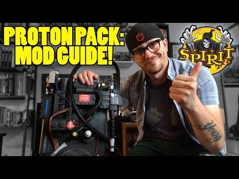 SPIRIT HALLOWEEN PROTON PACK: Mod Guide! Hands-on review Part Two!