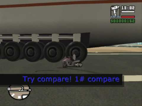 GTA San Andreas: The biggest airplane