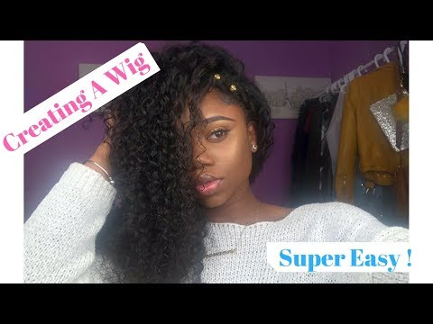 How To Make A Wig [For BEGINNERS]: Securing Your Closure || Beauty forever Hair Review