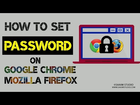 How to Lock Google Chrome and Mozilla Firefox with Password?