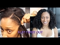 Flat Twist Out on Blow Dried Hair   Natural Hair