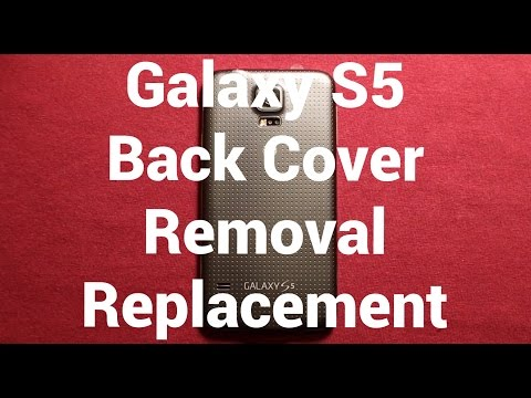 Galaxy S5 Back Cover Replacement How To Change