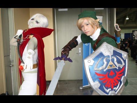 GHIRAHIM and LINK! Skyward Sword Cosplay at Otakon 2015